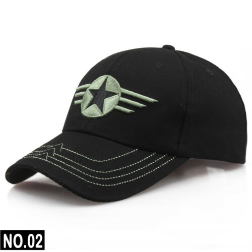 New Mens US ARMY Caps Embroidery Outdoor Sports Hat Combat Uniforms Cap Baseball