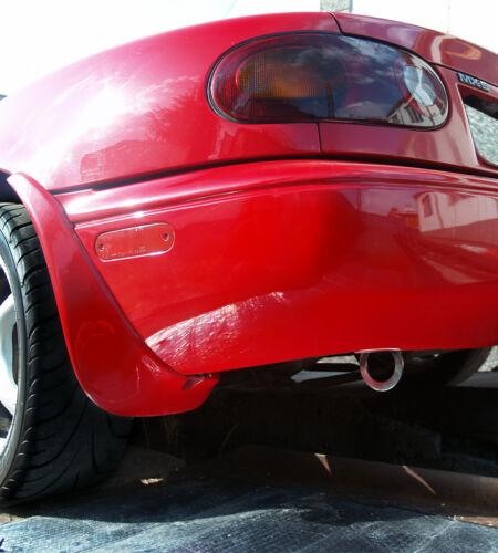 JDM style MX5 s s Acier inoxydable poli arrière crochet de remorquage eye Mazda MX-5 MK1