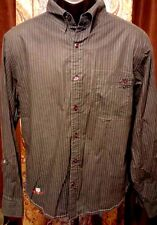 ~!Mufti Jeans Polo Men's Shirt XL Plaid Button Long Sleeve Collared. XLarge ~