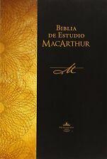 Biblia de Estudio MacArthur by John MacArthur - Spanish Edition (Paperback)