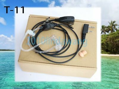 1-wire Headset Earphone Mic For Kenwood TK260G TK340D TK240D Portable Radio