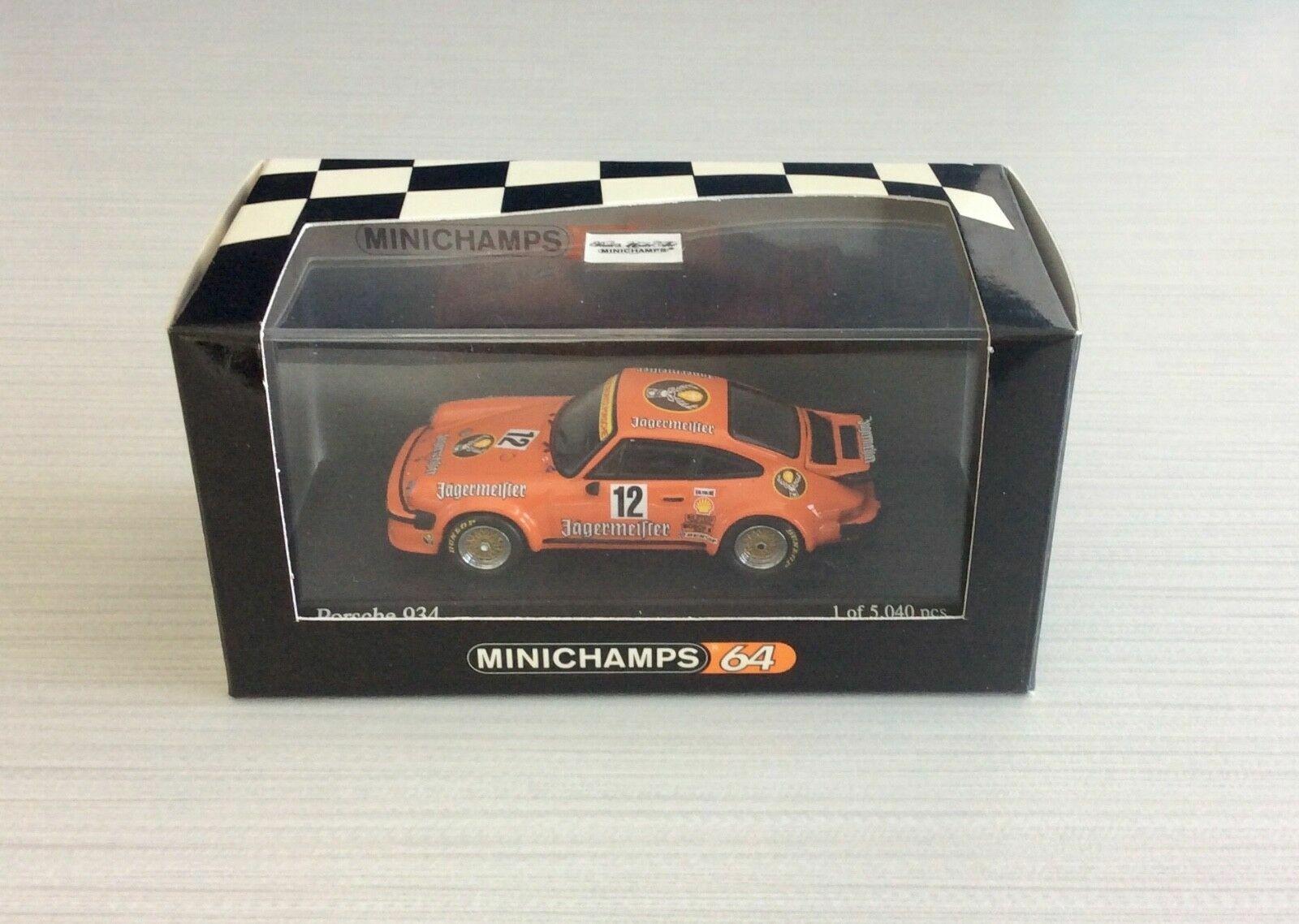 Minichamps-64-Porsche-934-Jagermeister-Helmut-Kellener DRM 1976 1 64 1 of 5040