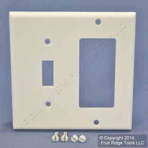 Image Is Loading Leviton White Gfci Decora Receptacle And Toggle Switch