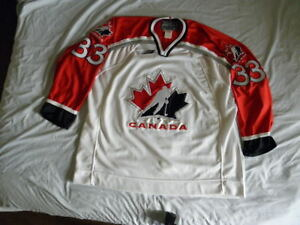 Image is loading Bauer-Manon-Rheaume-Authentic-Canada-Canadian-Hockey-Jersey - e660d15d36e