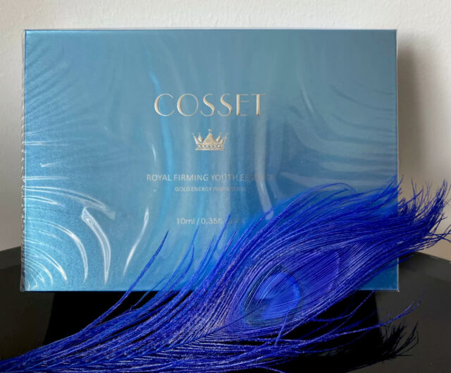 New Cosset Royal Firming Youth Essence Gold Energy Inspiration Serum 4 x 10ml