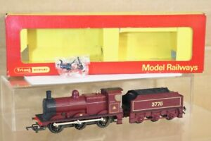 Triang Hornby R251 Lms Mr Bordeaux 0-6-0 Classe 3f Locomotive 3775 Emballé Ns