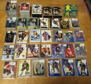 Huge-NHL-Hockey-Insert-Card-Lot-of-Sets-amp-Partial-Sets-Upper-Deck-Classic-Score