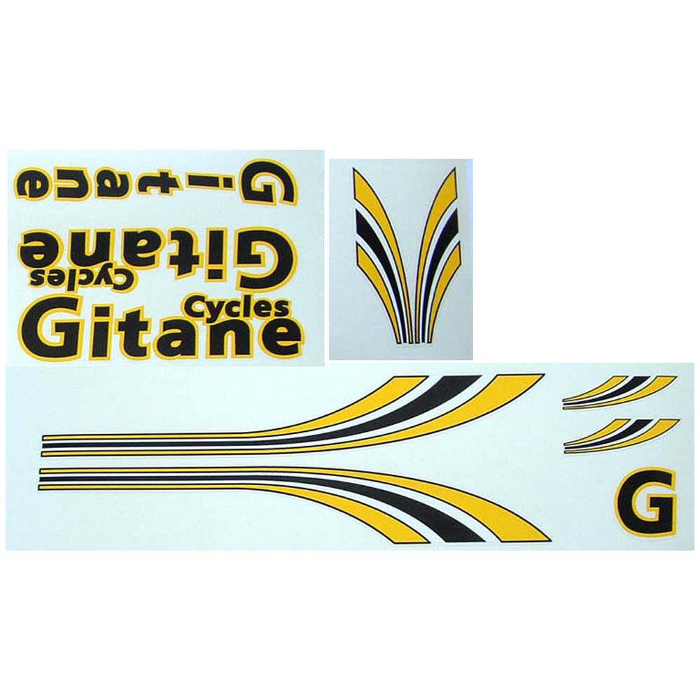 Gitane late 80s set of decals vintage