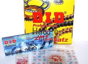 * Ducati Monster 900 City DID Kettensatz chain kit 520 ZVM-X G&G gold 1999