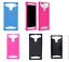 Custodia-UNIVERSALE-per-BRONDI-610-SZ-610SZ-Cover-GEL-SILICONE-TPU-MORBIDA miniatura 1