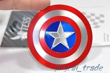Captain America Shield 3D Car Aluminium Decal Badge Emblem Universal for Auto