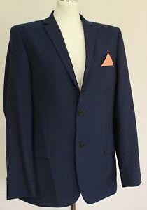 TED-BAKER-Mens-Blue-ASTRO-Wool-Blend-SUIT-Size-40R-40-034-Chest-Waist-38-034-Leg-28-034