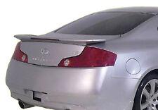 SPOILER FOR AN INFINITI G35 2-DOOR FACTORY 2003-2005