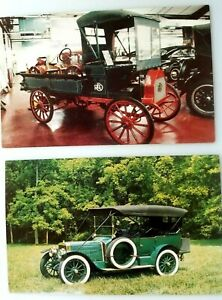 Details about 1911 REO Double Chain Drive & 1913 LOZIER Model 72 Touring  Car UNPOSTED