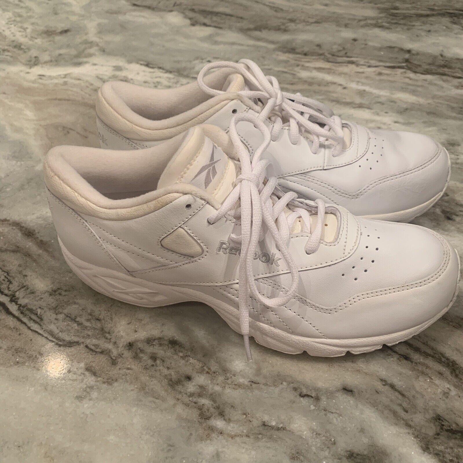 REEBOK 1998 COMFORT PREMIERE women's white 9.5 wide tennis shoe sneakers NWOB