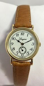Orologio-donna-Longines-150-Classico-oro-placcato-22mm-nuovo-mai-indossato