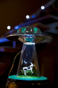 ... Alien Abduction Lamp UFO Lamps Flying Saucer Area