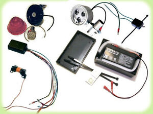 Details About Complete 12 Volt Lighting System For Motorized Bicycles