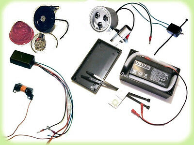 Complete 12 Volt Lighting System For Motorized Bicycles Ebay