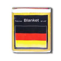 Germany Flag Fleece Throw Blanket 50 X 60 - Lower Price