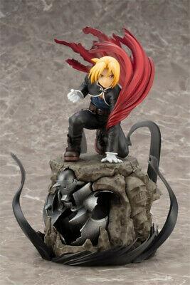 Figure Anime Fullmetal Alchemist Edward Red Cloak Figure Box