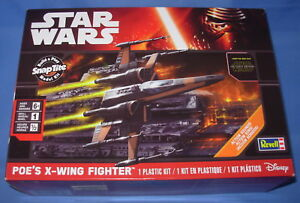 Revell-Star-Wars-The-Force-Awakens-Poe-039-s-X-Wing-Fighter-85-1635-Snap-Plastic-Kit