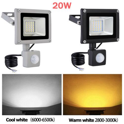 PIR LED Floodlight 100W 50W 30W 20W Outdoor Security Garden Motion Sensor Lights