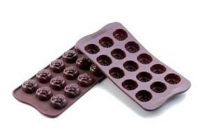 Stampo-silicone-rose-Silikomart-forno-easychoc-cioccolatini-dolci-SCG13-Rotex