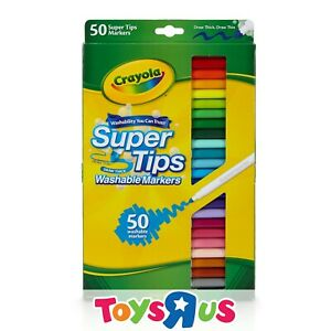 Crayola 50 SuperTips Markers
