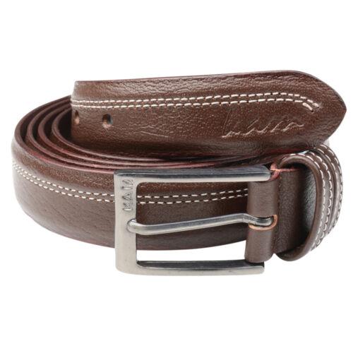 """Hommes Big Taille Plus Long Noir Marron Pantalon Ceinture en cuir JUSQU/'À 66/"""" Taille XL ceintures"""