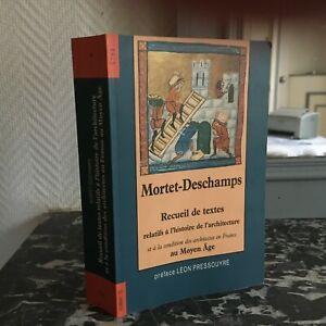 Mortet-Deschamps-Recueil-Textos-De-Historia-Arquitectura-Edad-Cths