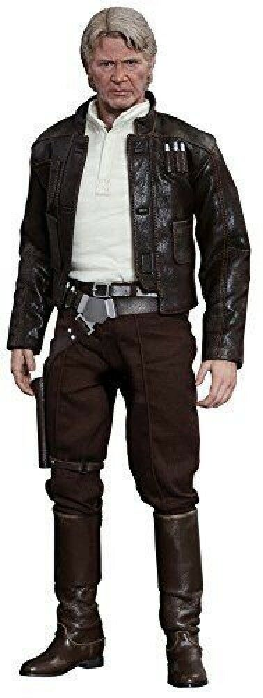 Movie Masterpiece Star Wars / Force of arousal Han Solo 1/6 scale plastic-p F/S