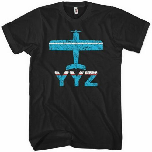 Fly Toronto YYZ Airport T-Shirt Kids XS-4XL Ontario Pearson Jet Plane Men