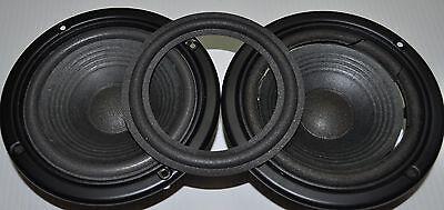 4.5/'/' Zoll 115mm Woofer Lautsprecher Reparatur Sicke Schaumkanteneinfassung
