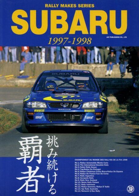 [BOOK] Rally makes series 97/98 SUBARU WRC IMPREZA 555 22B Sti prodrive WRX