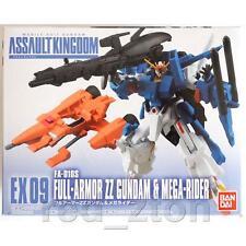 Bandai Gundam Assault Kingdom EX 09 FA-010S Full-Armor ZZ Gundam & Mega-Rider