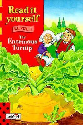 """""""AS NEW"""" , The Enormous Turnip (Ladybird Read It Yourself Level 1) Book"""