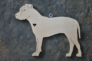 Pitbull Christmas Ornament.Details About Love Pit Bull Pitbull Terrier Wood Toy Dog Christmas Ornament Gift Tag