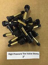 "Set of 10: High Pressure Brass Tire Valve Stems 2"" TR602HP TR602 USA SELLER"