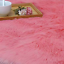 thumbnail 5 - Faux-Fluffy-Sheepskin-Wool-Seat-Pad-Retro-Round-Long-Fur-Cushion-Sofa-Chair-Mat