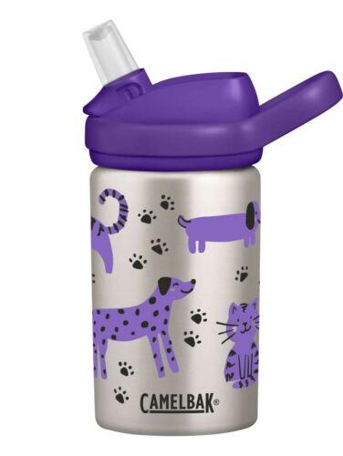 CAMELBAK EDDY KIDS STAINLESS STEEL WATER BOTTLE BPA FREE 400ml