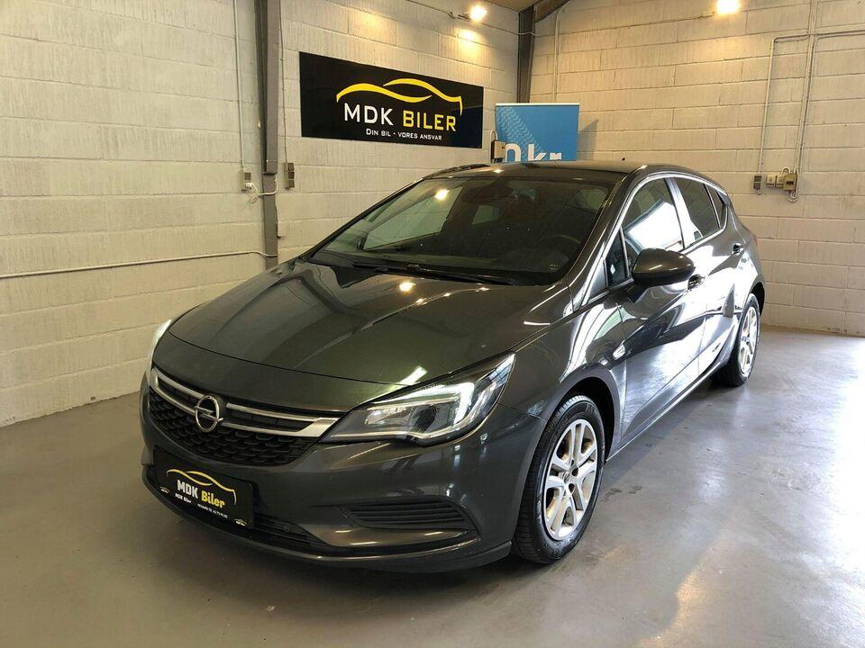 Opel Astra 1,6 CDTi 110 Enjoy Diesel modelår 2016 km 172000
