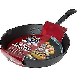 Hairy Bikers 25cm Cast Iron Frying Pan