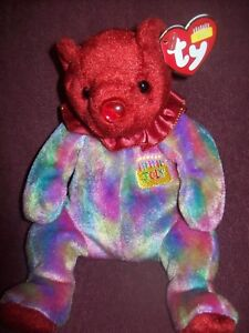 53efb9d1960 Ty Beanie Babies - JULY Birthday Bear - 2001 - Excellent Pre-Owned ...