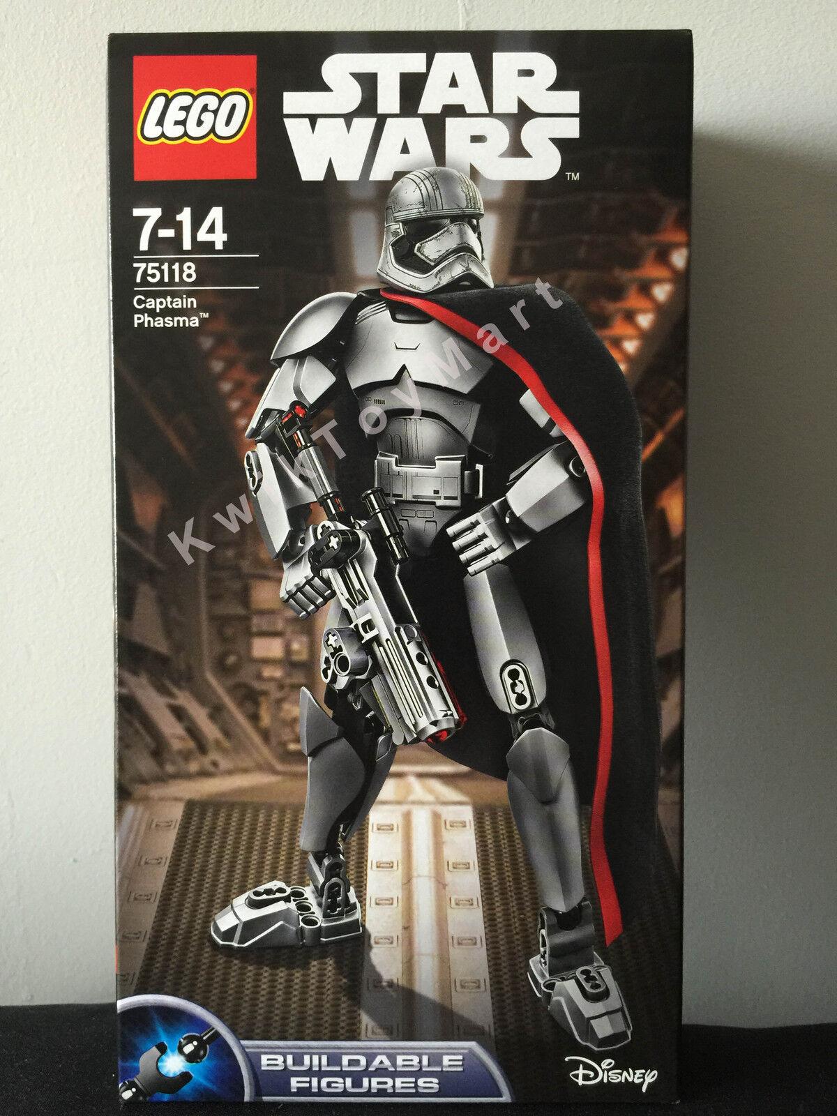 LEGO Star Wars CAPTAIN PHASMA  75118 Buildable Figures 26 CM RARE