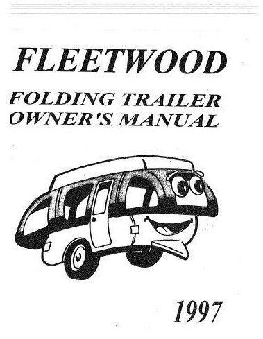 new coleman fleetwood popup camper owners value package 1 ebay rh ebay com Coleman Double Hub Tent Manuals Coleman Tent Manuals 17' X 9'