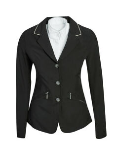Horseware Ireland Embellished Girls Competition Jacket With Row Of Crystals