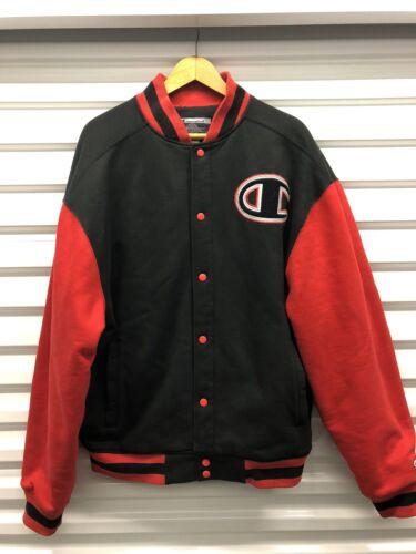Champion Varsity Letterman Jacket  Big C  Spellout