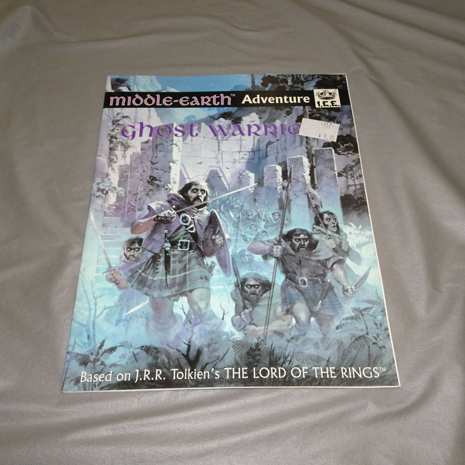 GHOST WARRIOR MIDDLE-EARTH ADVENTURE  8016  I.C.E. - 1990
