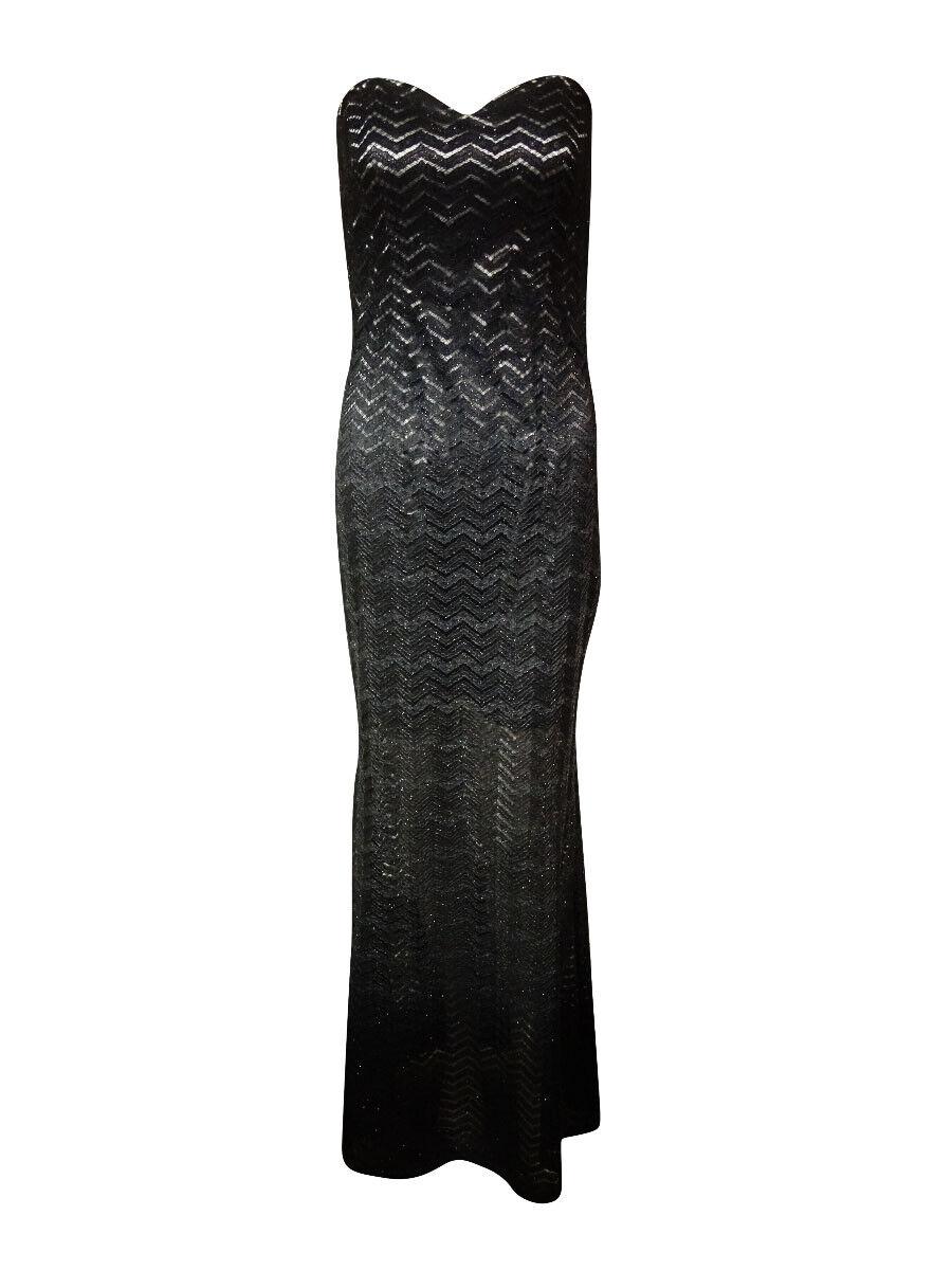 934a60f9ad7 Betsy   Adam Women s Women s Women s Strapless Chevron Lace Dress 70cd39
